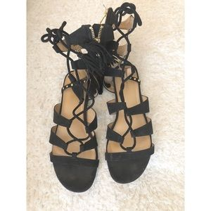 Lace Up Express Sandals